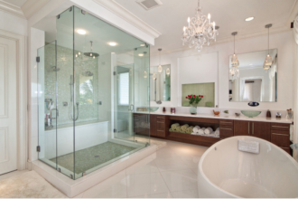 Sliding Frameless Glass Shower Doors