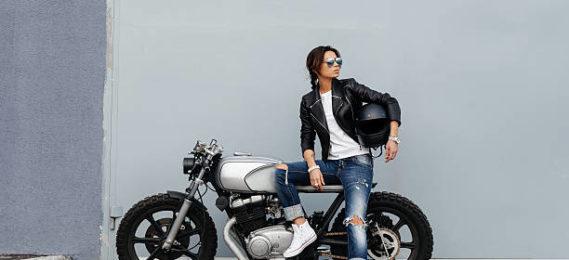 women motorbike